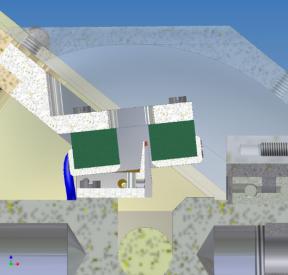 Датчик углового положения строчной развертки ±5,3° сканирующего зеркала