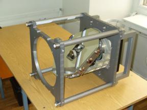 Двухкоординатное оптико-механическое сканирующее устройство БСКР-Т