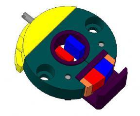 Магнитная система датчика углового положения