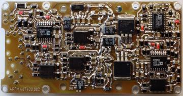 Внешний вид плат модуля электроники квалификационного образца (QM) сканирующего устройства прибора МСАСИ