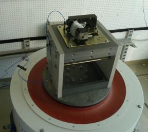 Механические испытания сканирующего устройства прибора МСАСИ
