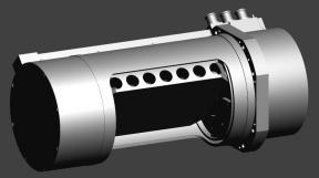 Оптико-механическое сканирующее устройство спектрометра ОЗОНОМЕТР-З