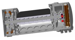 Сканирующее устройство в разрезе