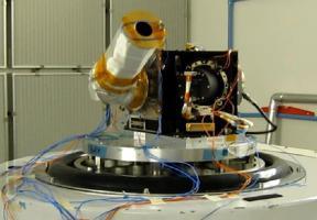 Спектрометр ФЕБУС на вибрационных испытаниях (Франция)
