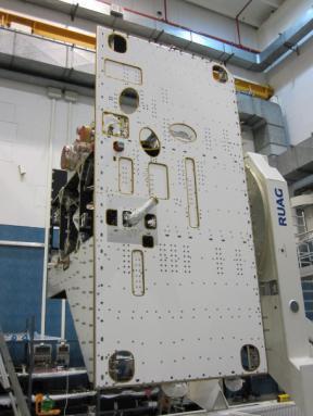 Космический аппарат MPO с установленным прибором ФЕБУС