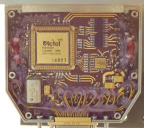 Внешний вид платы управления  летной модели (FM) поворотного устройства прибора ФЕБУС