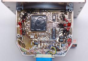 Внешний вид платы управления квалификационной модели (QM) поворотного устройства прибора ФЕБУС