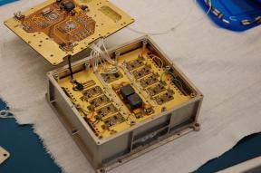 Внешний вид макета координатно-чувствительного детектора ПИПЛС-Б