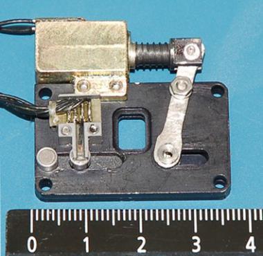 Внешний вид фотозатвора с оптическим окном 5×7 мм